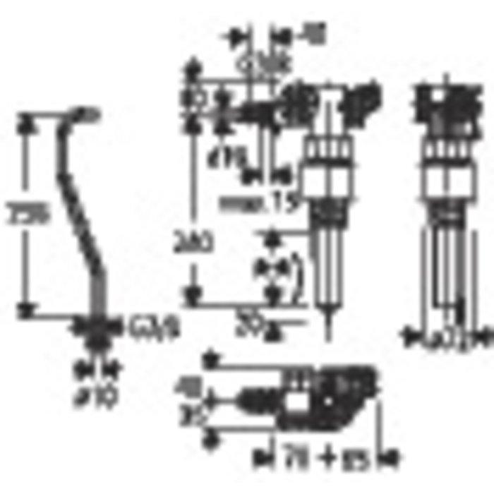 Robinet flotteur silencieux Grohe-Dal-1