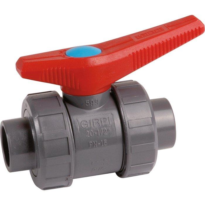 Vanne à coller - PVC pression - Standard