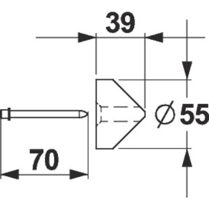 Cale d'angle urinoir-1