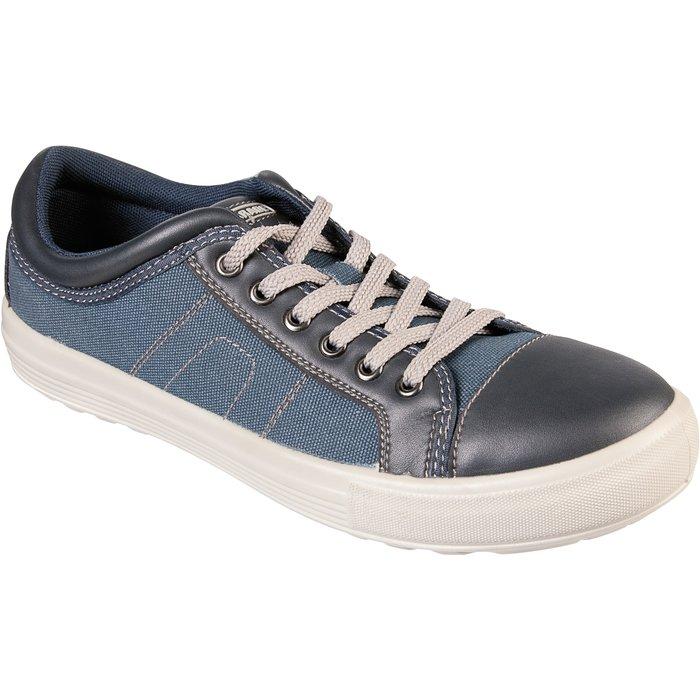 Chaussures basses de sécurité Vance - Toile - Bleu