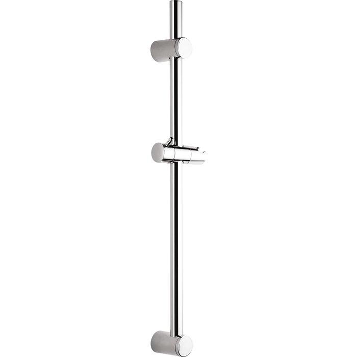 Barre de douche rénovation Odyssea - Diamètre tube 25 mm - Curseur à poignée-1