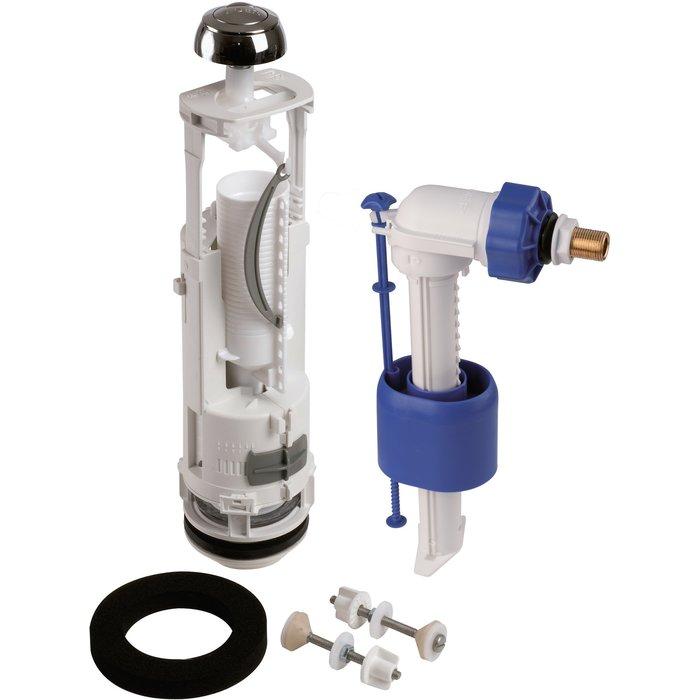 Kit mécanisme de WC 357 - Poussoir double débit