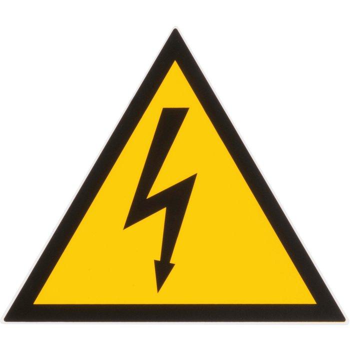 Panneau d'avertissement de danger-1