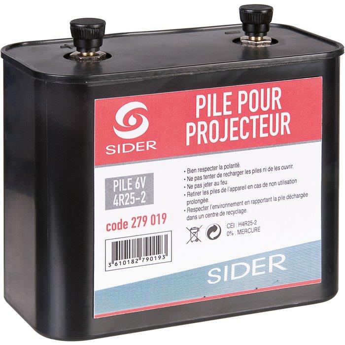 Pile projecteur portable