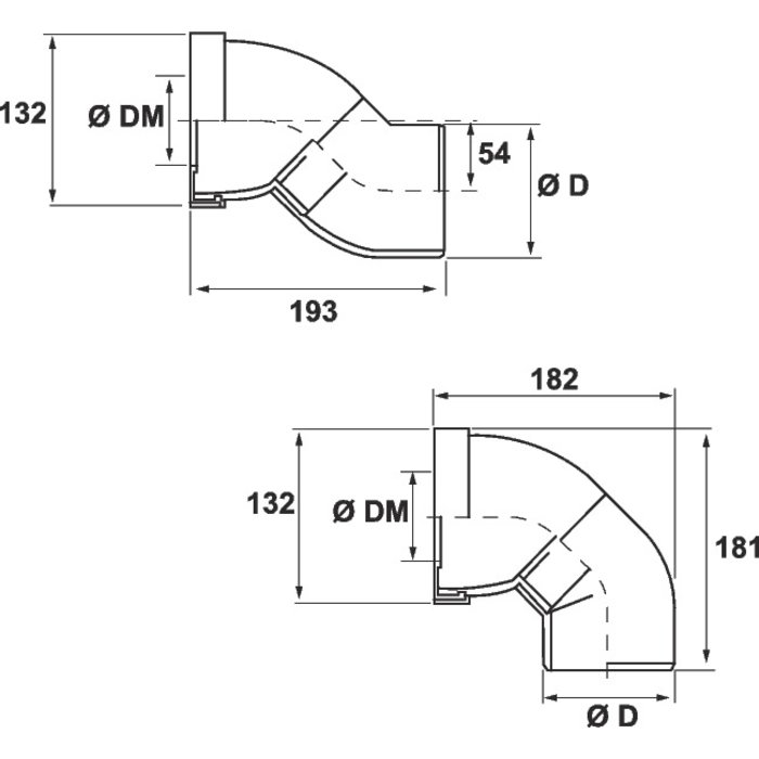 Pipe WC orientable-1
