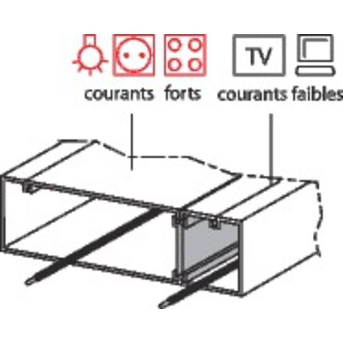 Goulotte en kit GTL - Pour coffret Drivia  - À composer-1