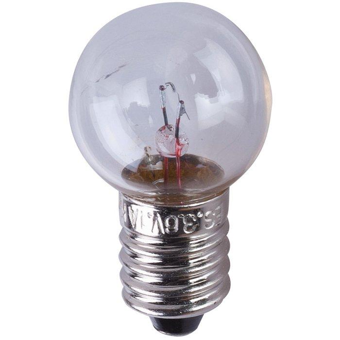 Ampoule halogène principale - Pour bloc lumineux - Culot E10-3