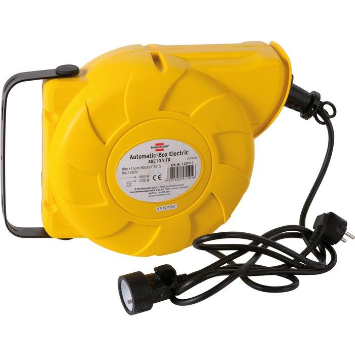 Enrouleur prolongateur électrique - Automatique - Câble 3G1,5 mm²