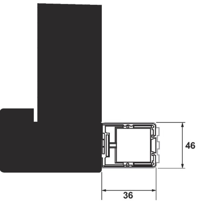 Bandeau ventouse GRS300 - Alimentation automatique - Tension 12 / 24 / 48 V-1
