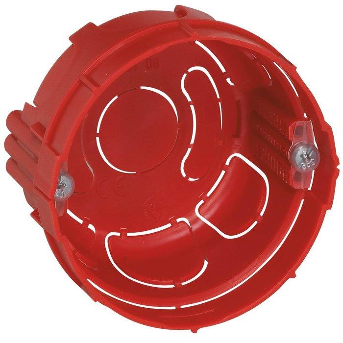 Boîte d'encastrement ronde Batibox - Maçonnerie - 1 poste-1