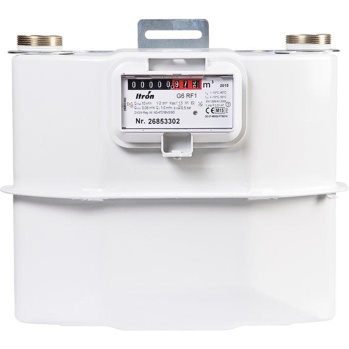 Compteur gaz G6 - Filetage mâle