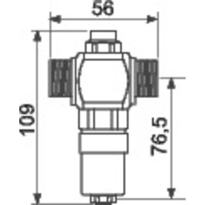 Soupape de sécurité anti-gel Thermogel®-1