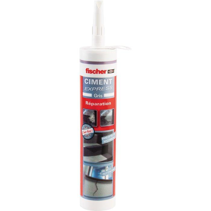 Ciment express - Gris - Contenance 310 ml-1
