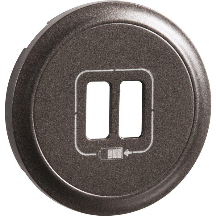 Enjoliveur de prise chargeur USB - Double-3