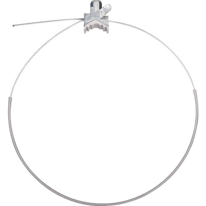 Collier rapide universel - Avec garniture insonorisante et gaine - Pour tuyauterie - Lot de 10-2