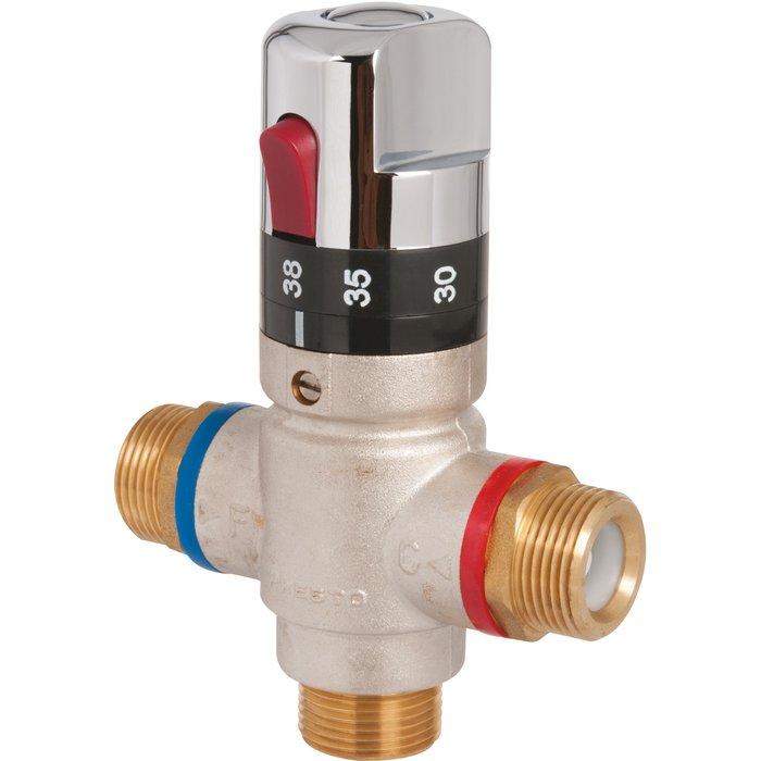 Régulateur thermostatique de sécurité gradué