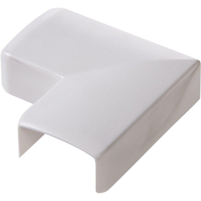 Angle plat pour moulure électrique Keva
