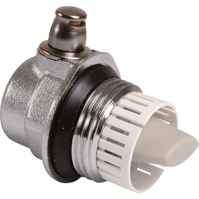 Purgeur d'air automatique - Pour radiateur fonte ou aluminium - Droit - Mâle-1