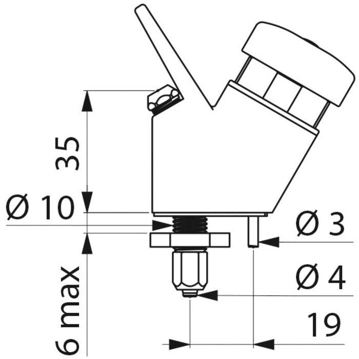 Robinet pour fontaine d'eau-1
