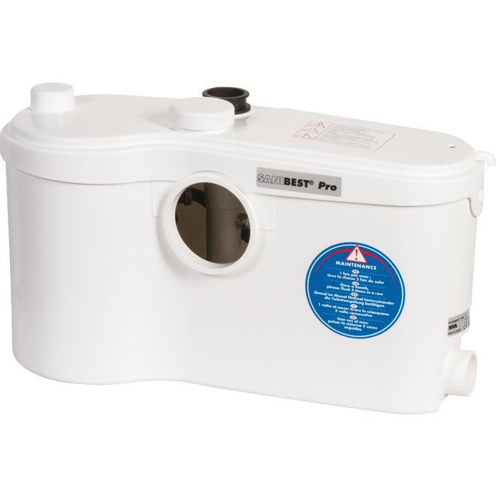 Broyeur WC Sanibest Pro