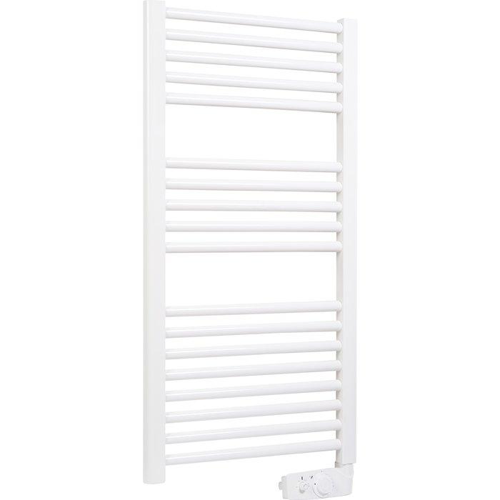Sèche-serviette électrique étroit 2012 - Blanc - Largeur 40 cm-1