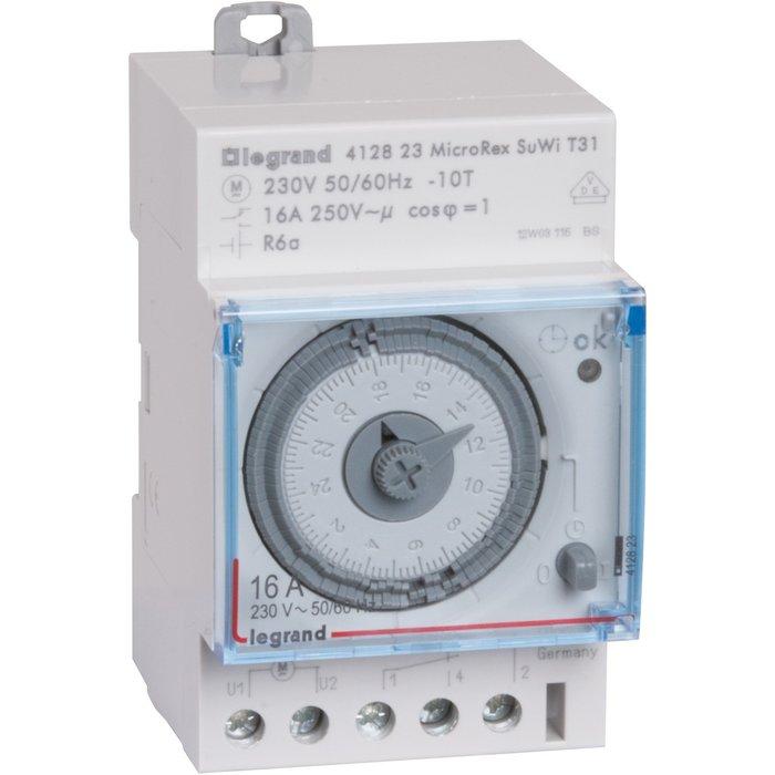 Interrupteur horaire programmable analogique - Automatique-1