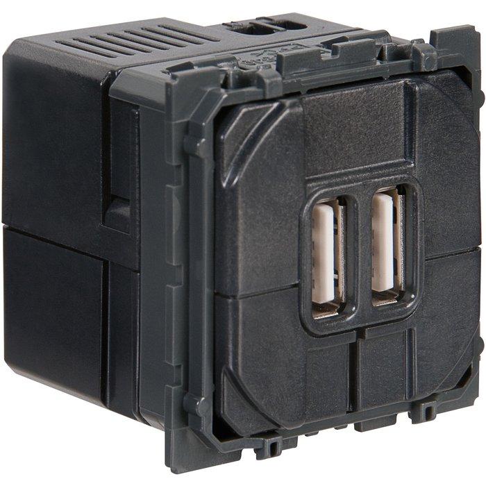 Prise de chargeur USB Céliane - Double-1