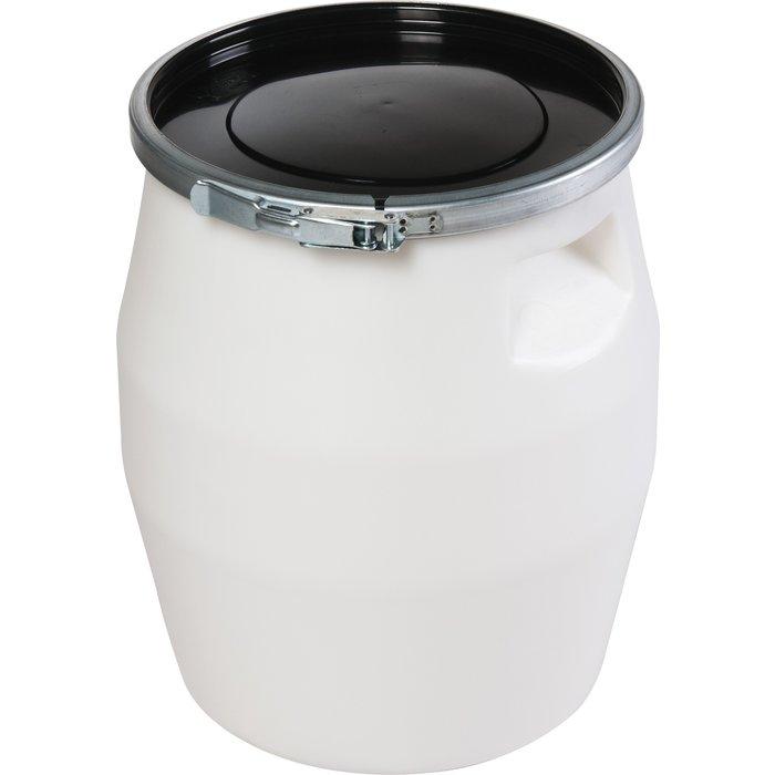 Fût alimentaire à ouverture totale - Blanc - Température -40°C à 90°C