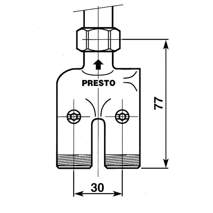 Robinet pré-mélangeur monobloc-1