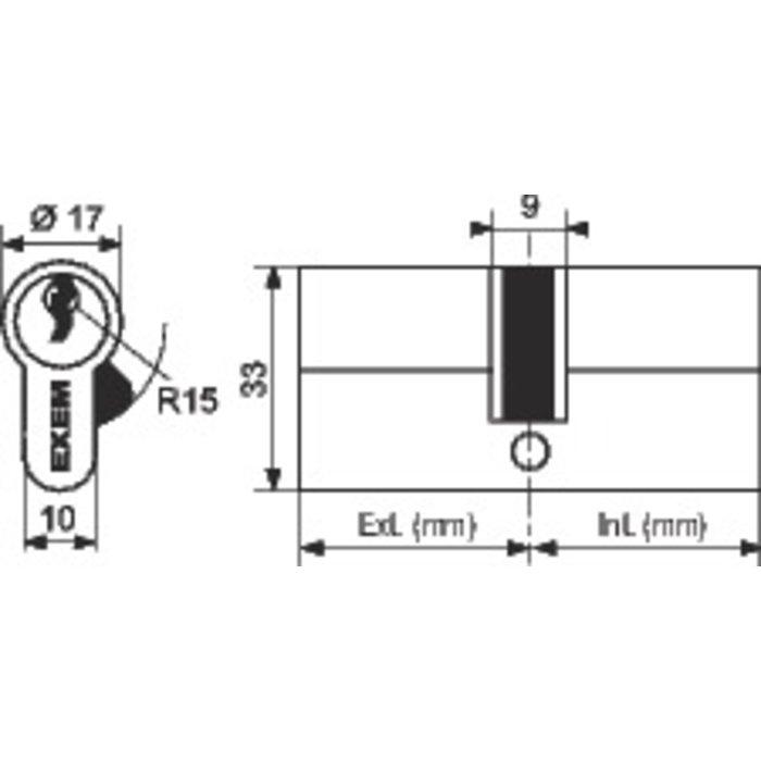 Cylindre 2 entrées 5G-2