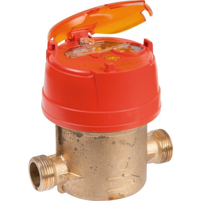 Compteur d'eau divisionnaire volumétrique Aquadis+ - Eau chaude