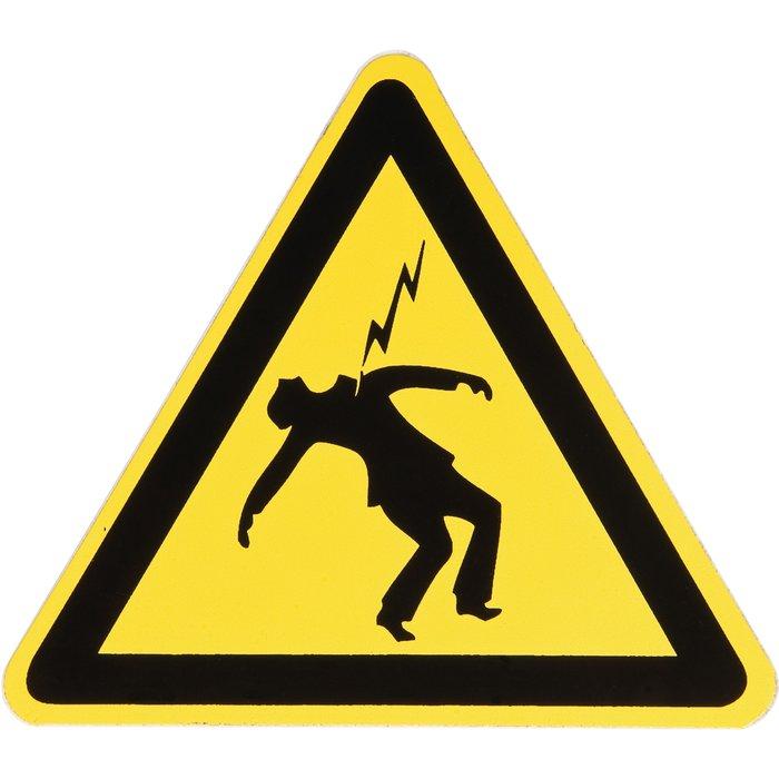 Panneau d'avertissement de danger-3