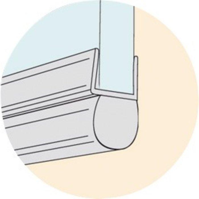 Baguette PVC pour bas de porte de douche-2