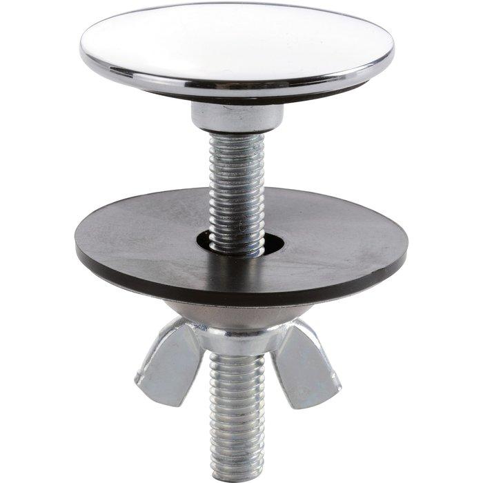 Cache-trou - Chromé - Diamètre 44 mm