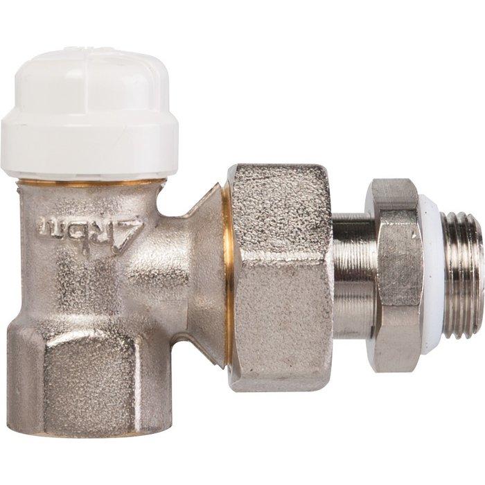 Coude de réglage pour radiateur - Femelle - Sans bague téflon-1