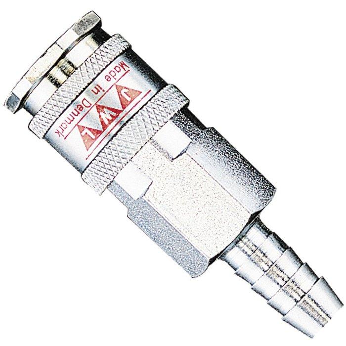 Coupleur cannelé - Diamètre 8 mm