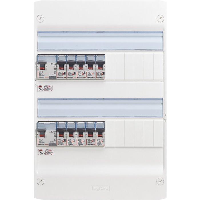 Coffret électrique équipé Drivia - Pré-câblé-1