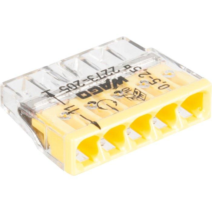 Borne de connexion Série 2273 - Fil rigide - Section 0,5-2,5 mm²-4