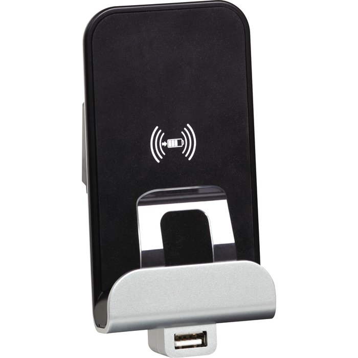 Chargeur à induction et USB type A Mosaic  - Pour téléphone portable - 2 modules-1