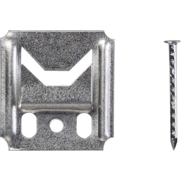 Clip de fixation lambris - Jeu de 250 pièces