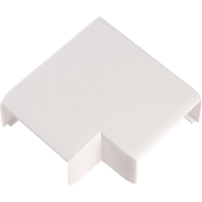 Angle plat pour goulotte électrique Viadis