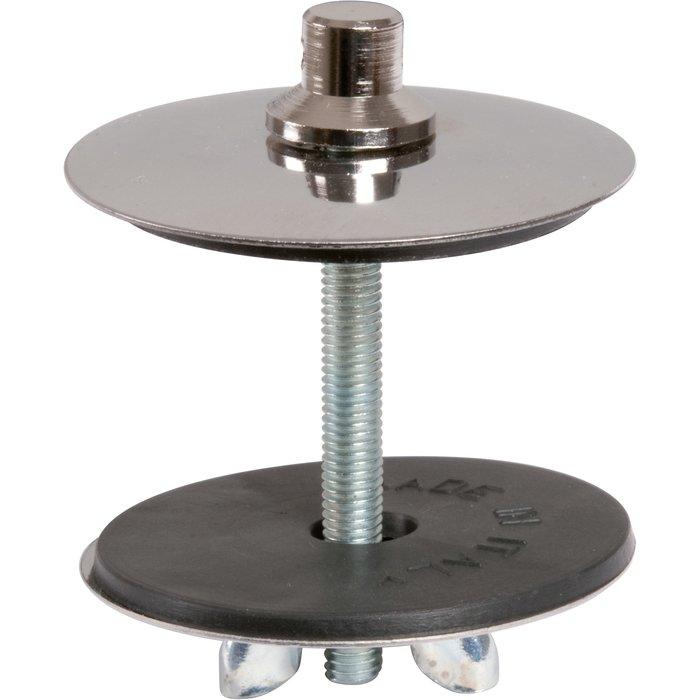 Cache-trou - Inox - Diamètre 46 mm