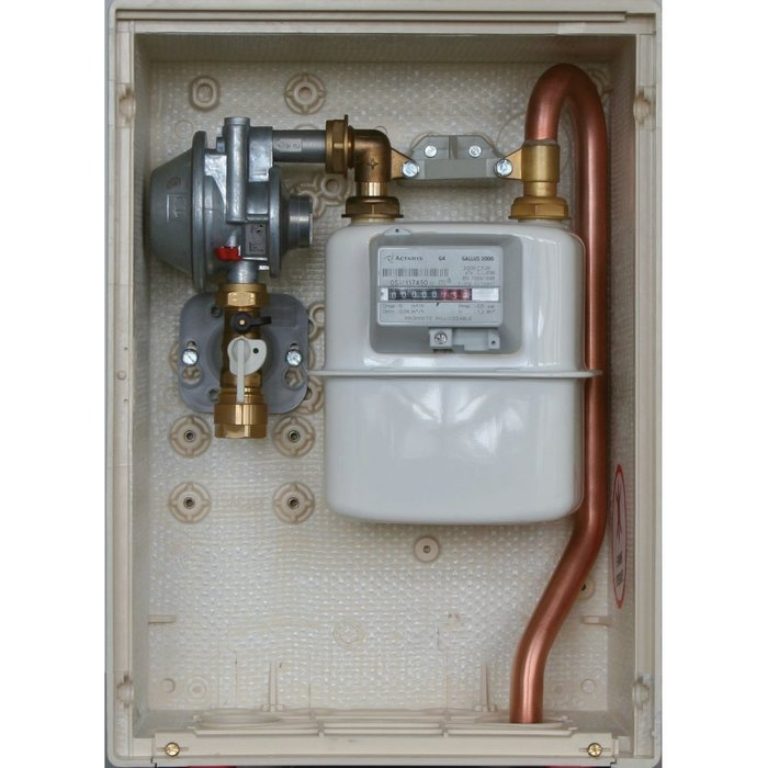 Coffret gaz S2300 - Pression sortie 37 mbar