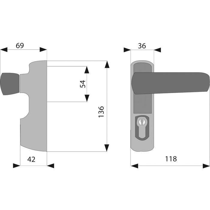 Module à béquille pour Idea, Push et Bolt-1