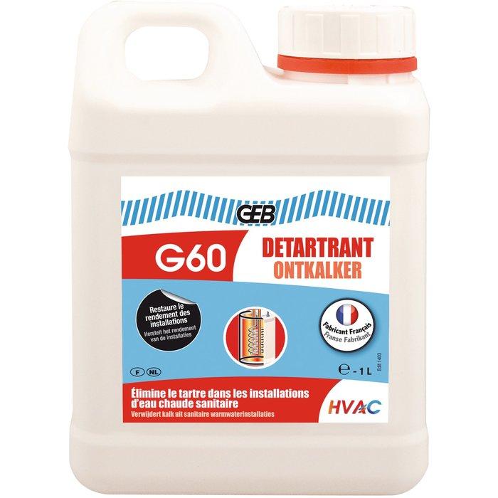 Détartrant - Spécial canalisations d'eau chaude sanitaire-1