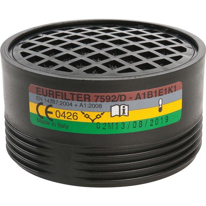 Galette filtrante anti-poussière et anti-gaz vapeur - Pour demi-masque respiratoire-3