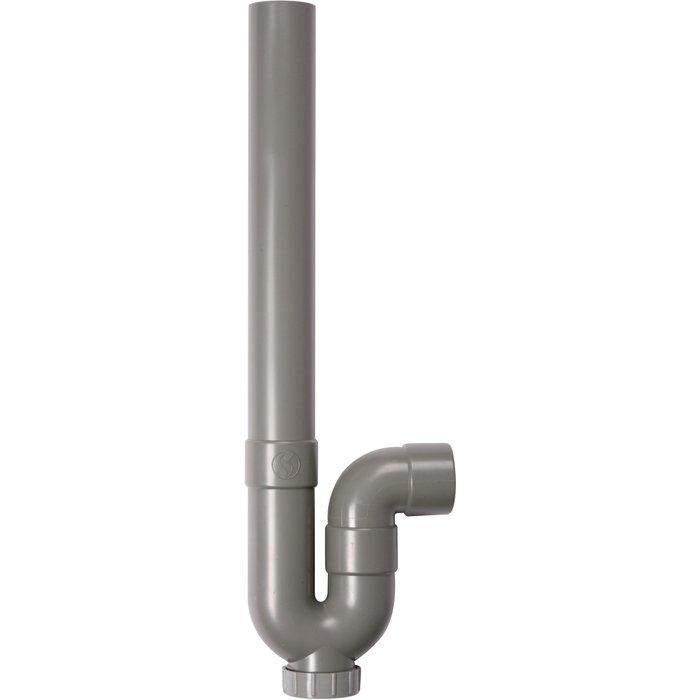 Siphon plastique de machine à laver - Sortie horizontale-1
