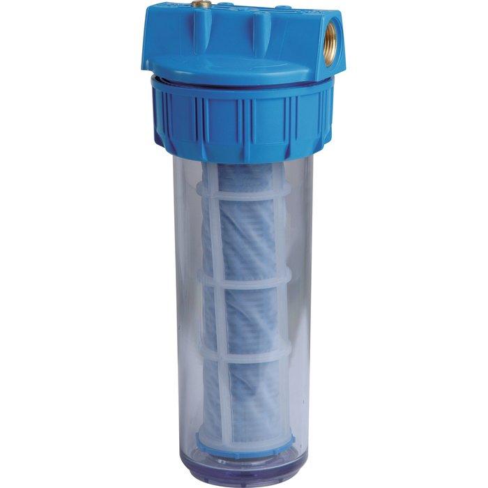 Filtre à eau avec cartouche lavable - Manchon 60 µ-1