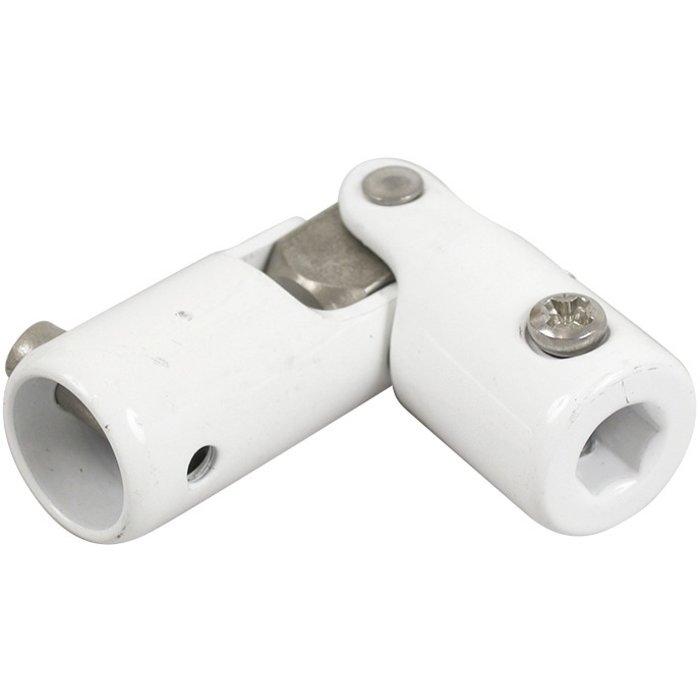 Genouillère de store - Acier laqué - Diamètre 12 mm
