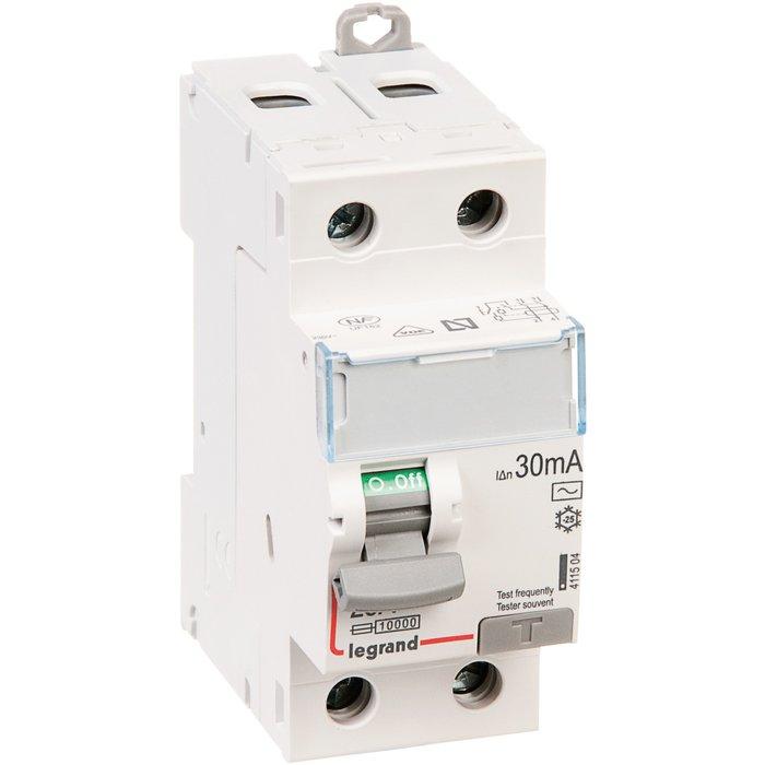 Interrupteur différentiel DX³-ID - Bipolaire - Protection tête de groupe - Arrivée haut / Départ bas